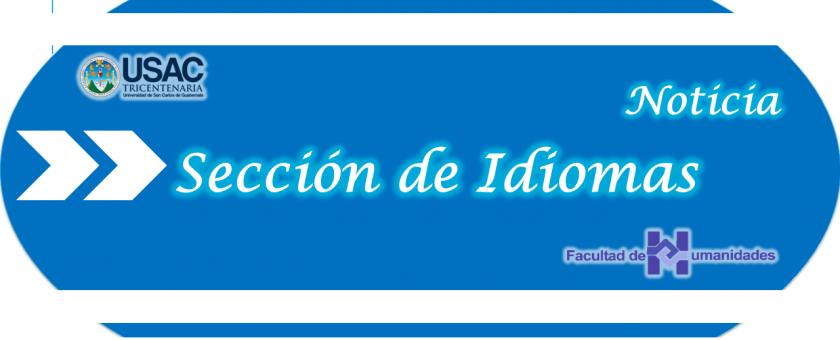 Noticia Sección de Idiomas