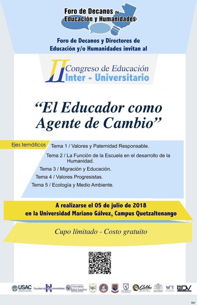 afiche interuniversitario XELA2